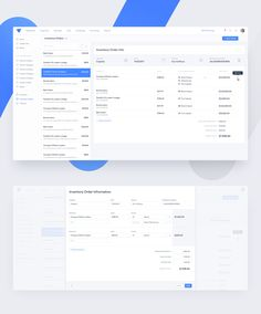 Here is the Inventory Order Details page designed for the team at ServiceFusion. Dashboard App, Dashboard Interface, Dashboard Design, User Interface Design, Enterprise System, Coding Software, Web Ui Design, Ui Design Inspiration, Application Design