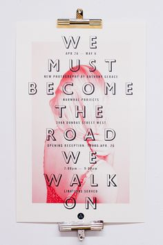 We Must Become the Road We Walk On: A Thesis