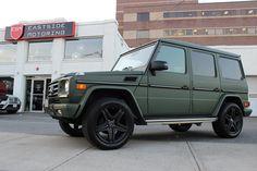 Bildergebnis für matte green g wagon