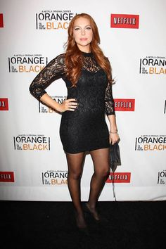 Laura Prepon (Alex) at the Netflix Presents 'Orange is the New Black' premiere in NYC. #OITNB