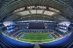 More from my photowalk of Cowboys Stadium. This shot was from the 50 yard-line, last row of the stadium, up theres away. Nfl Football Teams, Bears Football, Football Stuff, Cowboys Football, College Football, Cowboys Stadium, Sports Stadium, Dallas Cowboys Signs, Random Things