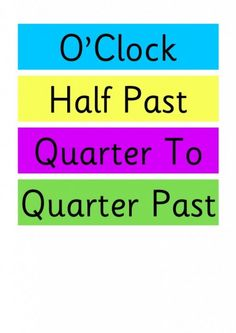 1000+ ideas about Clock Labels on Pinterest | Classroom Clock, Telling ...