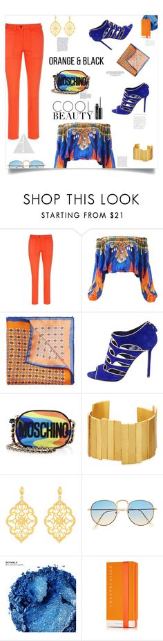 """""""Todo sobre mi madre, Pedro Almodovar (1999)"""" by agla83 ❤ liked on Polyvore featuring Yves Saint Laurent, Sergio Rossi, Moschino, Nicole, Stephanie Kantis, Kabella Jewelry, Urban Decay, Chantecaille and MAC Cosmetics"""