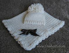 crochet baby blanket pattern-crochet baby hat pattern