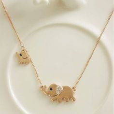 Jewelry: I love the little elephant pendant necklace, and baby elephant, so cute! Fashion gold jewelry 2013 gold pendant necklace for women Cute Jewelry, Gold Jewelry, Jewelry Accessories, Jewelry Necklaces, Jewlery, Baby Jewelry, Kids Jewelry, Gothic Jewelry, Jewelry Sets