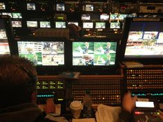 CBCSports 1m Here's a look inside the #cbcsports production truck, #Stampede101 on Bold right now