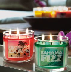 Top any table with Bath & Body Works Candles & light up your favorite room with fragrance ♥   #BBWHome