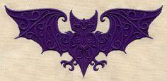Baroque Bat design (UT5332) from UrbanThreads.com