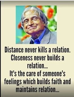 Distance Never Kills a Relations Apj Quotes, Lesson Quotes, Real Life Quotes, Wisdom Quotes, Words Quotes, Relationship Quotes, Sayings, True Feelings Quotes, Reality Quotes