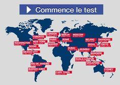 Test à faire : Quelle ville du monde te correspond le plus ?
