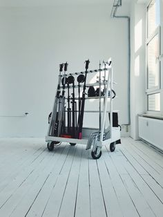 Welcome Home Studio Berlin #studio #workspace #organized #diy #gear #white #wood #photostudio #coworkspace #loft #office #set #design #industrialstyle #modern #storage #equipment #camera