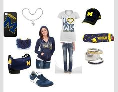 Love...the...Blue!!!  Go Michigan!!