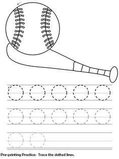 line tracing sheets-circles