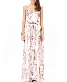 Backless Floral Print Cami Dress With Cross Back