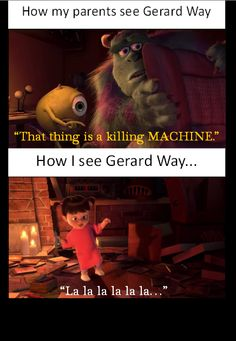 Gerard Way My Chemical Romance funny. THIS IS SO TRUE THO