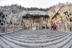 Longmen Grottoes - Luoyang   Photo by: Tommy Rillorta   Flickr