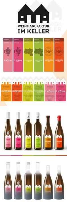 Wein im Keller - Corporate Design - designed by Designerpart - www.designerpart.com