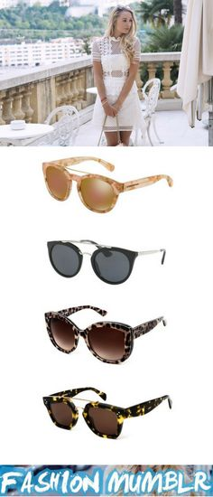 ddace2b5b3bb @FashionMumblr wears Fendi Iridia sunglasses on SmartBuyGlasses.co.uk:  http:/