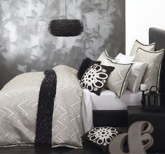 Zara Champagne Quilt Cover Set by Logan & Mason Platinum Quilt Bedding, Linen Bedding, Bedding Sets, Bed Linens, Bed Quilts, Duvet Covers Nz, Quilt Cover Sets, Bedroom Colors, Bedroom Decor