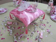 "Photo 1 of 12: Princess Baby Shower / Baby Shower/Sip & See ""Jessica's Pink, Princess Baby Shower"" 