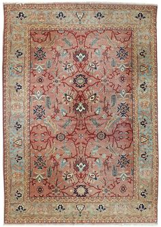 Closeout Rugs, 9 x 12s Gallery: Sultanabad Design Rug, Hand Knotted in Turkey; size: 8 feet 10 inch(es) x 12 feet 6 inch(es)