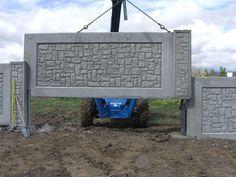 1000 Ideas About Concrete Fence On Pinterest Brick