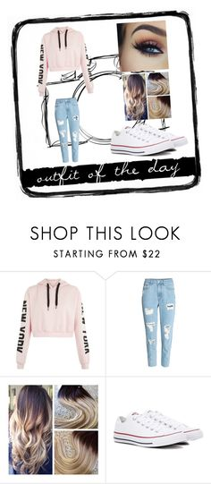 """""""Untitled #3"""" by emilykg9 on Polyvore featuring Converse and Tim Holtz"""