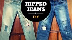 DIY Ripped Jeans for Women   Make Distressed Denim At Home
