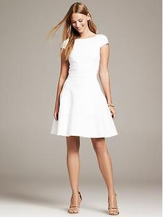 As soon as this is on sale, or I get a special discount offer - this is mine! Seamed Fit-and-Flare Dress - Dresses
