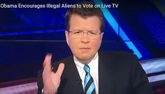 Cavuto stunned as Obama prods illegals to VOTE on national TV: It's secret, they can't catch you