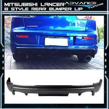 08-15 Mitsubishi Lancer Rear Bumper Lip Spoiler Poly Propylene PP \$145.99 http://ift.tt/1ItXBF3