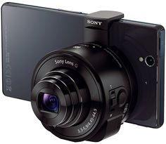 Sony DSC-QX10 and QX100 Smartphone Attachable Lens-Style Cameras - First Look from Adorama Learning Center
