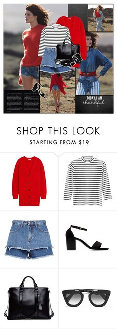 """""""..."""" by margarita-m-a ❤ liked on Polyvore featuring Chloé, Monki, Prada and Marni"""