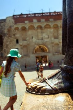 Toe of the Grgur Ninski statue in Split, Croatia. You're supposed to rub it for good luck. Photo: Radek Gregorowicz