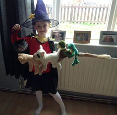 The Witch and all her friends on the Broom. But where is DRAGON?  sc 1 st  Pinterest & The Witch From Room on the Broom 002 | Pinterest | Witches Costumes ...