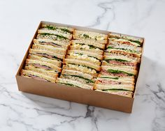 Sandwich Platter Delivery - Lunch Delivery, Party and Office Catering Services Company Party Platters, Serving Platters, Sandwich Delivery, Sandwich Platter, Delicious Sandwiches, Cake Servings, Surrey, Bakery, Food And Drink