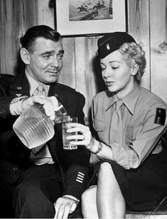 Clark Gable and Lana Turner