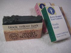 Examples of Different Ways to Package Your Soap: Half Box Soap Wrapping