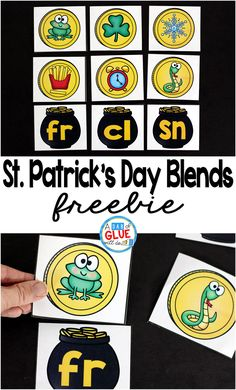 If you have not been able to tell so far, I LOVE teaching with themes. This St. Patrick's Day Blend Match-Up will be the perfect addition to your literacy centers. Your students will be having Kindergarten Centers, Kindergarten Activities, Kindergarten Classroom, Classroom Ideas, Spring Activities, Literacy Stations, Literacy Centers, Reading Centers, First Grade Freebies