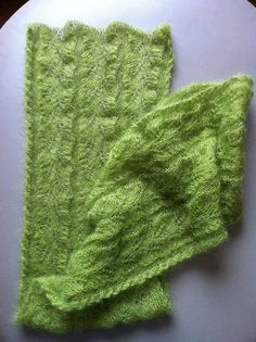 Free Pattern: Tendrillar Scarf...luscious color and texture.