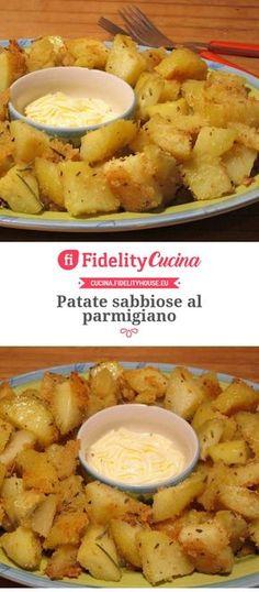 Patate sabbiose al parmigiano