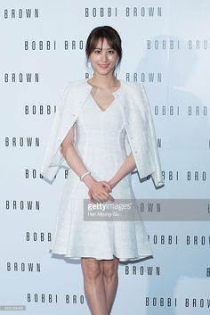 South Korean actress Claudia Kim (Kim Soo-Hyun) attends the Bobbi Brown Launch Party at Shilla Hotel on March 3, 2015 in Seoul, South Korea.