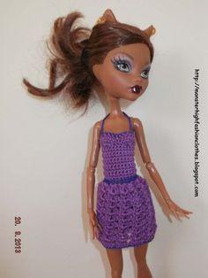 Ropa para muñecos - Ropa Monster High: v76 - hecho a mano por mamimonster en DaWanda http://mymonsterhighboutique.dawanda.com