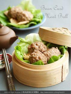 腐竹牛肉丸 - 小熊與廚房的非常關係