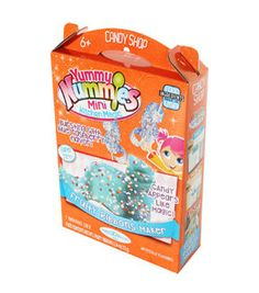 The Fruity Ribbons Maker lets you create chewy candy ribbons with delicious rainbow crystals. The candy appears like magic, bursting with blue raspberry flavor. Kit includes 1 kitchen magic tray, 1 in