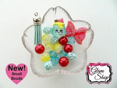 Shopkins Bracelet Kit Party Favor New Small Beads by GlamShopBeads