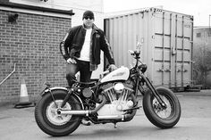 Harley Davidson Sportster built by Gwidon