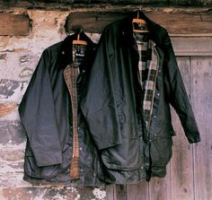 Barbour wax jackets are great!