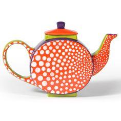 Spotty, dotty teapot!