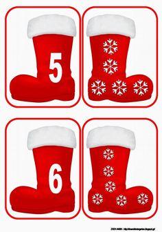 Το νέο νηπιαγωγείο που ονειρεύομαι : Με τις μπότες του Αη Βασίλη ... ταυτίζω και μετρώ !! Christmas Math, Preschool Christmas, Christmas Activities, Christmas And New Year, Christmas Themes, Winter Christmas, Christmas Crafts, Christmas 2019, Holiday Decorations